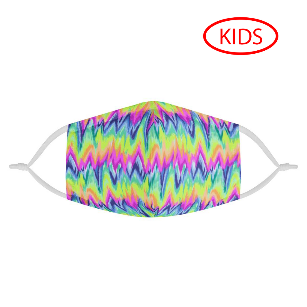 CHEVRON - KIDS MASK WITH (4) PM 2.5 CARBON FILTERS - Electric Styles