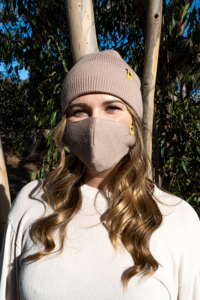 COCO - ADULT 2-PIECE WINTER MASK & BEANIE SET - Electric Styles