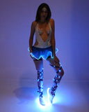 Blue Light Up Tutu - Electric Styles
