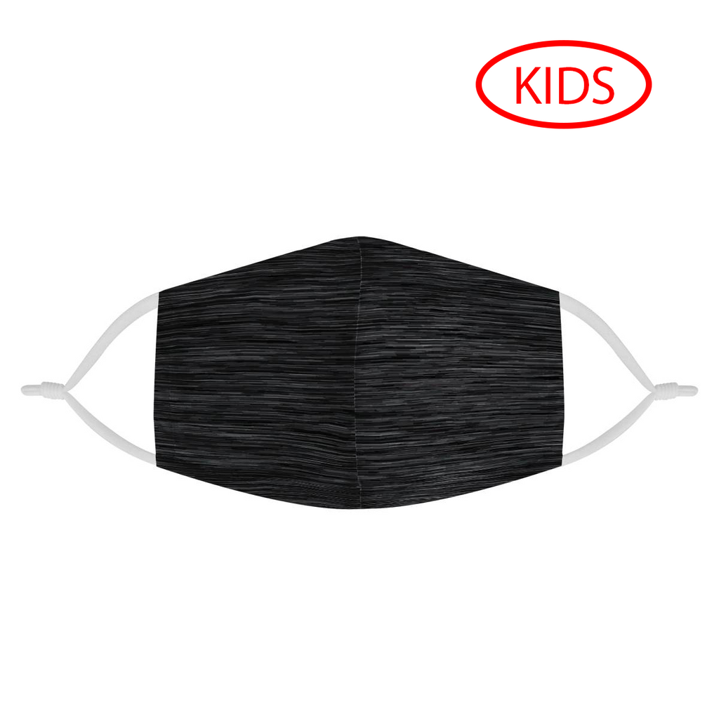 HEATHER DARK -  KIDS MASK WITH (4) PM 2.5 CARBON FILTERS - Electric Styles
