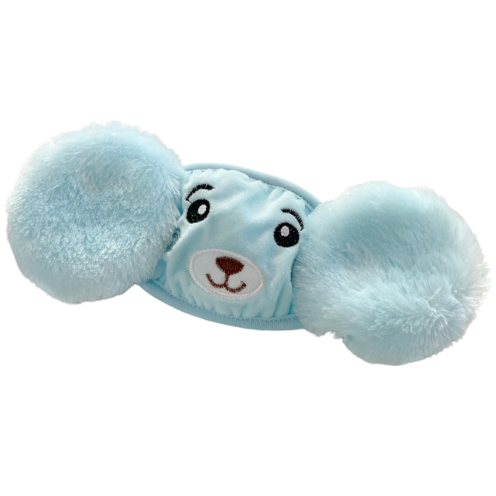 BLUE BEAR - KID'S EAR MUFF FACE MASK - Electric Styles