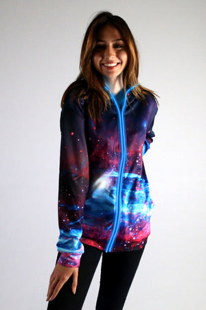 Deep Space - Light Up Hoodie - Electric Styles