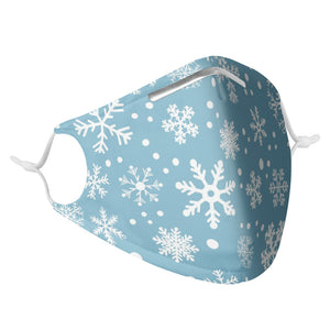 SNOWFLAKE -  MASK WITH (4) PM 2.5 CARBON FILTERS - Electric Styles