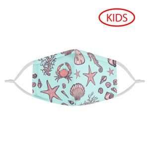 UNDER THE SEA - KIDS MASK WITH (4) PM 2.5 CARBON FILTERS - Electric Styles