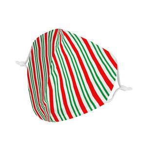 CANDY CANE - KIDS MASK WITH (4) PM 2.5 CARBON FILTERS - Electric Styles
