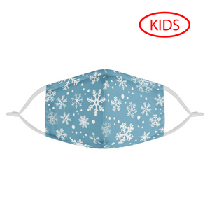KID'S SNOWFLAKE - MASK WITH (4) PM 2.5 CARBON FILTERS - Electric Styles