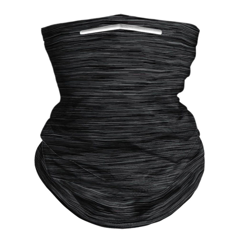 HEATHER BLACK - NECK GAITER - Electric Styles
