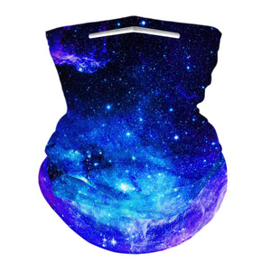 BLUE GALAXY - NECK GAITER - Electric Styles
