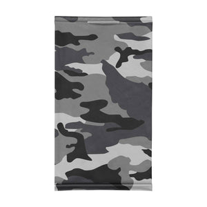 GRAY CAMO - NECK GAITER - Electric Styles