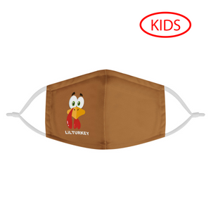LITTLE TURKEY - KIDS MASK WITH (4) PM 2.5 CARBON FILTERS - Electric Styles