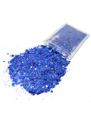 Royal Blue - Chunky Rave Glitter - Electric Styles