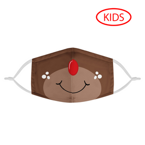 RUDOLPH - KIDS MASK WITH (4) PM 2.5 CARBON FILTERS - Electric Styles