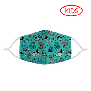 SHARK - KIDS MASK WITH (4) PM 2.5 CARBON FILTERS - Electric Styles