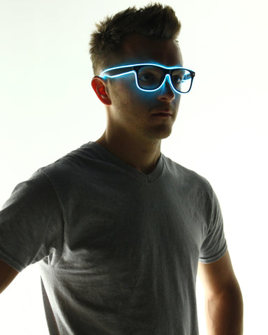 Light Up Glasses - Electric Styles | World's Number 1 Light Up Shoe Store - {product_type}} - Aqua - 8