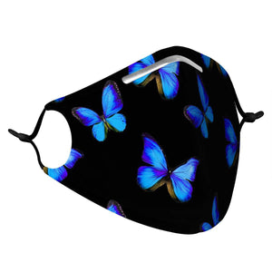 BUTTERFLY - MASK WITH (4) PM 2.5 CARBON FILTERS - Electric Styles