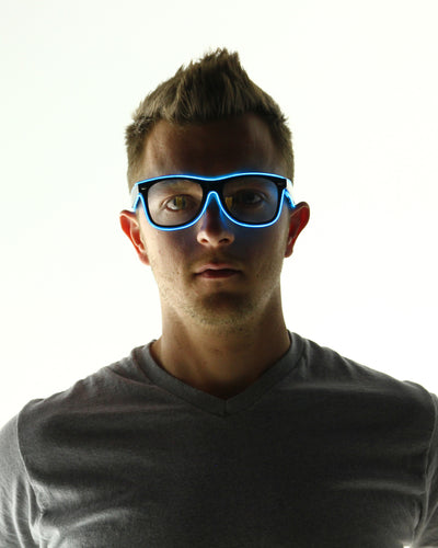 Light Up Glasses - Electric Styles | World's Number 1 Light Up Shoe Store - {product_type}} - Blue - 12