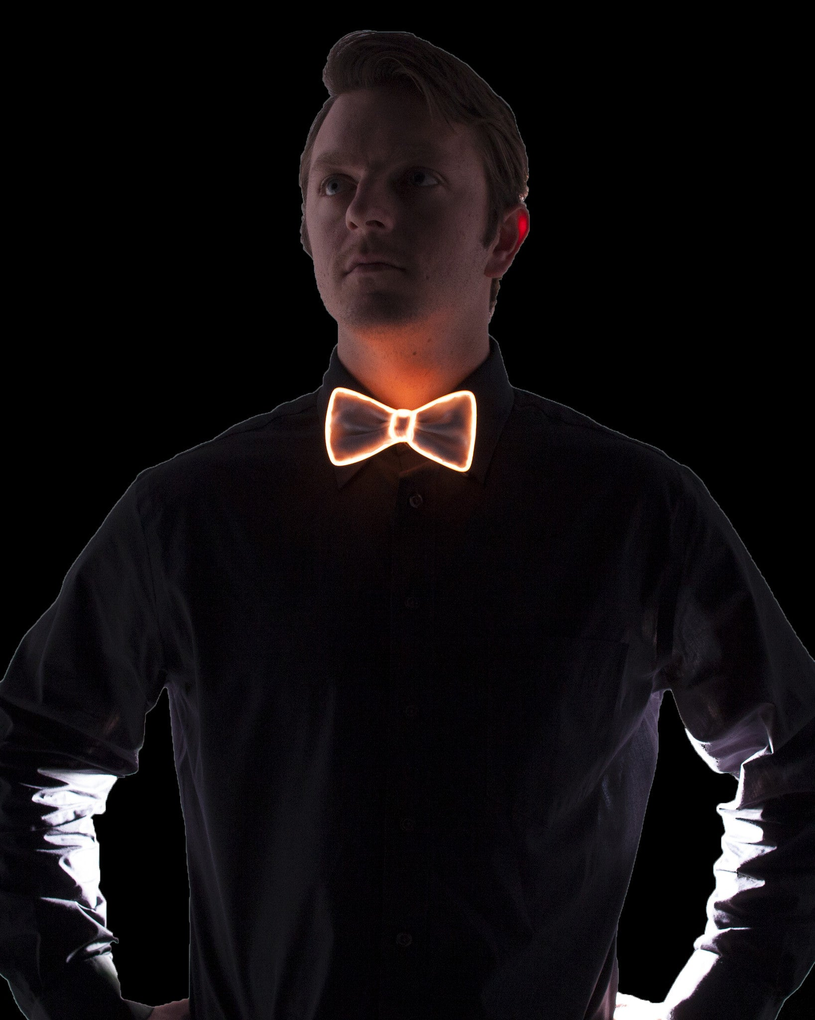 White Light Up Bow Tie - Electric Styles | World's Number 1 Light Up Shoe Store - {product_type}} - Red - 7