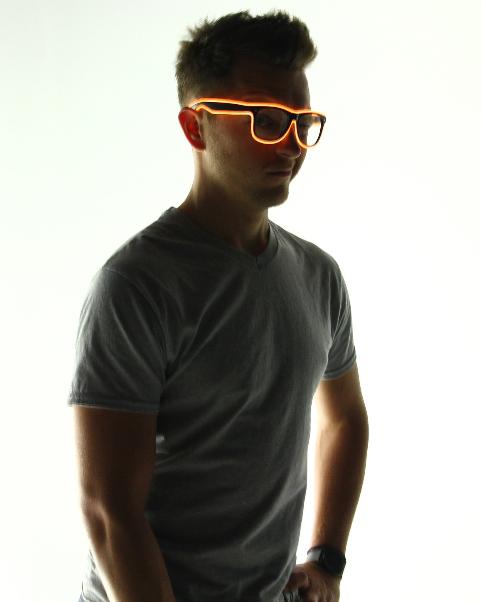 Light Up Glasses - Electric Styles | World's Number 1 Light Up Shoe Store - {product_type}} - Orange - 11