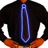 Black Light Up Tie - Electric Styles | World's Number 1 Light Up Shoe Store - {product_type}} -  - 11