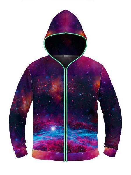 Deep Space - Light Up Hoodie