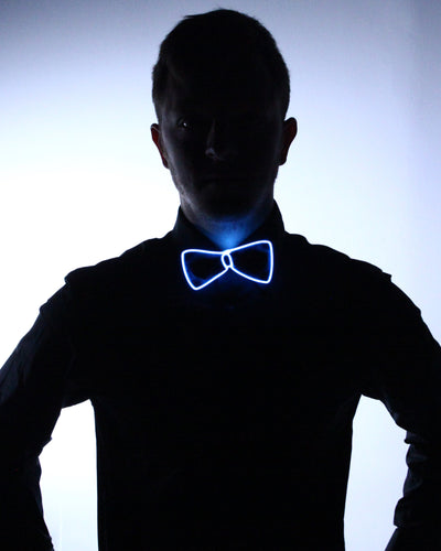 Black Light Up Bow Tie - Electric Styles | World's Number 1 Light Up Shoe Store - {product_type}} -  - 10