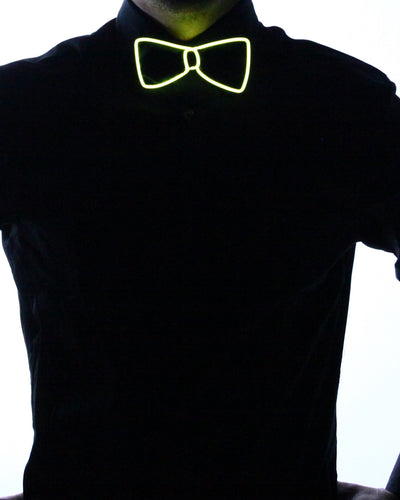 Black Light Up Bow Tie - Electric Styles | World's Number 1 Light Up Shoe Store - {product_type}} -  - 9
