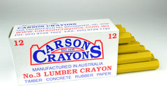 Carsons Lumber Crayons Yellow