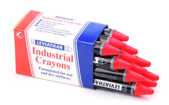Leviathan Industrial Optimizing Crayons Magenta Packet of 12