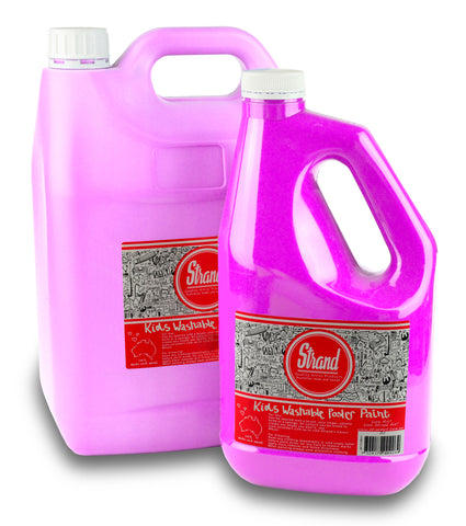 Strand Kids Washable Poster Paint Pink