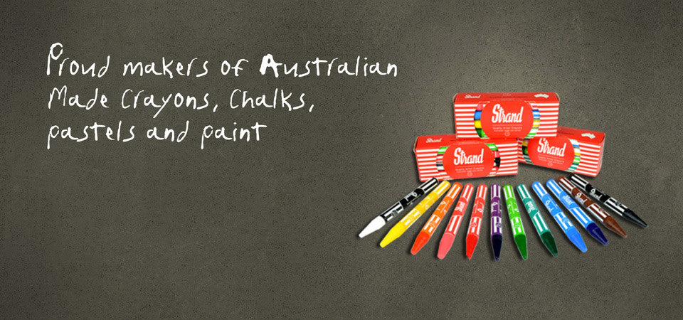 Garnet Manufacturing, Australian made Crayons, Chalk, Pastels and Paint