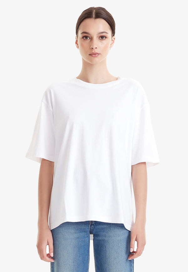 Commoners - Organic Cotton Relaxed Tee - White