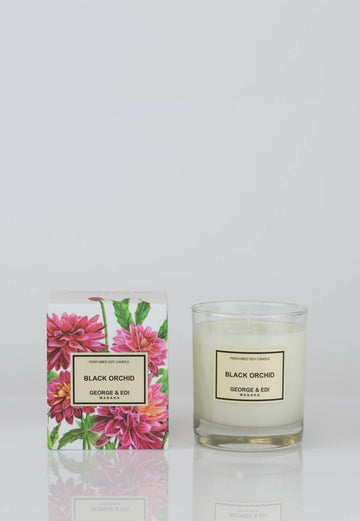 George & Edi - Candle - Black Orchid