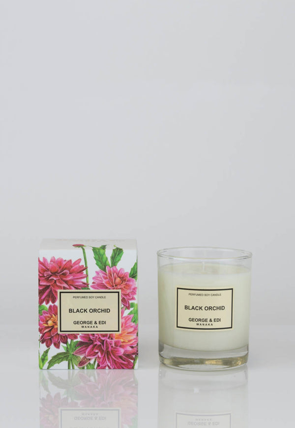 George & Edi - Candle - Black Orchid - angel-divine
