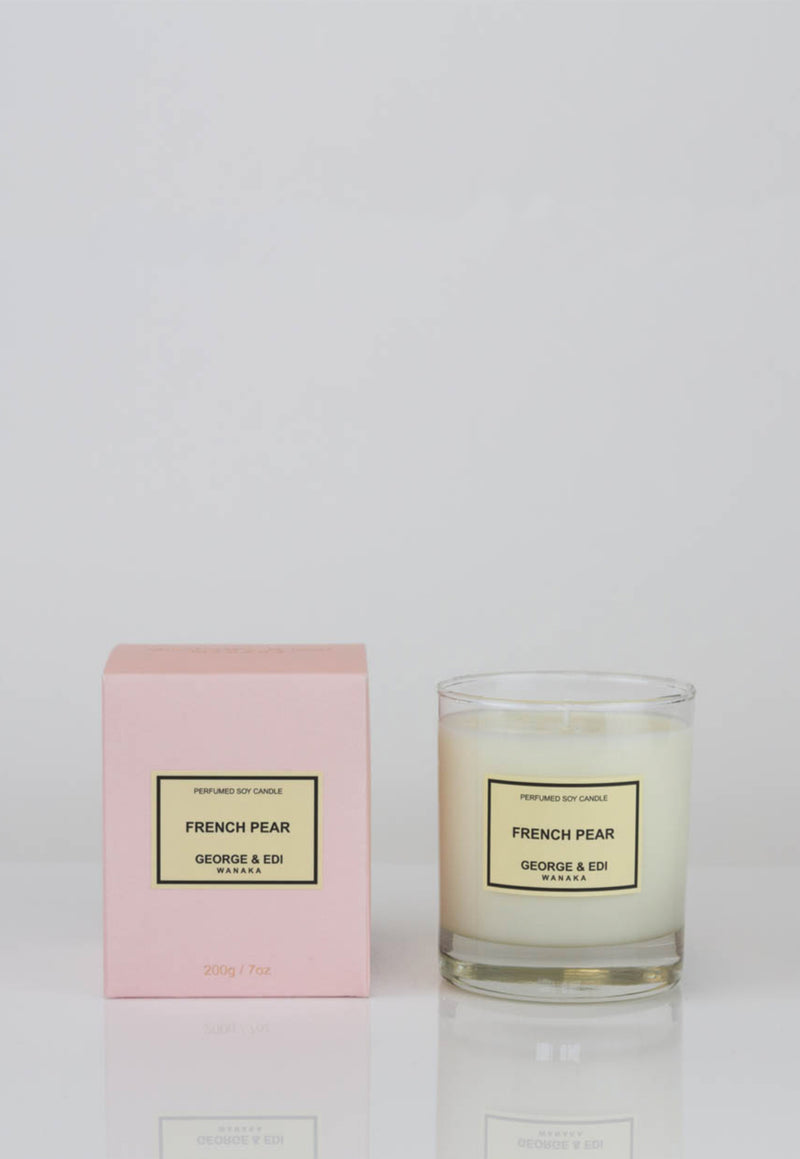 George & Edi - Candle - French Pear - angel-divine