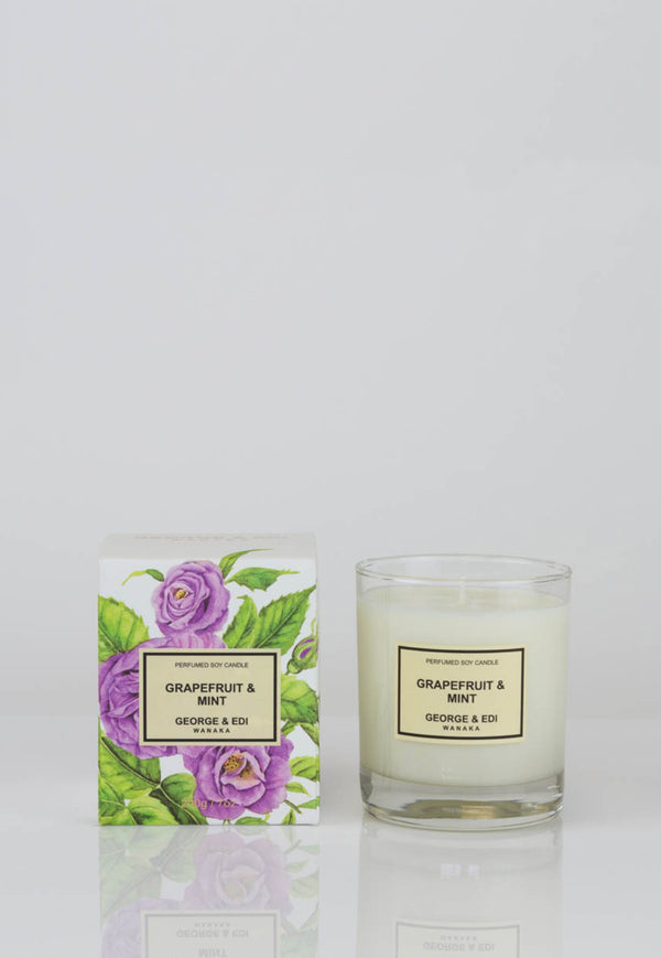 George & Edi - Candle - Grapefruit & Mint - angel-divine