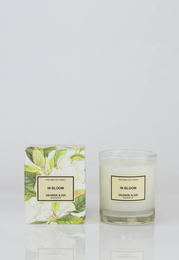 George & Edi - Candle - In Bloom - angel-divine