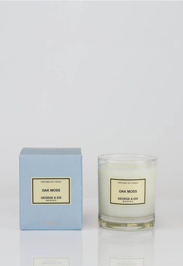 George & Edi - Candle - Oak Moss - angel-divine
