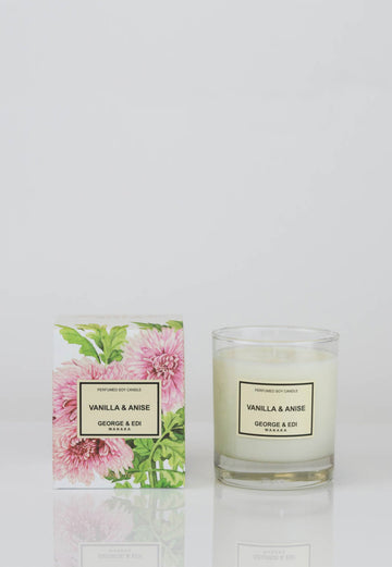 George & Edi - Candle - Vanilla & Anise - angel-divine