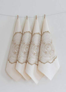 Tree Ring Cloth Napkins