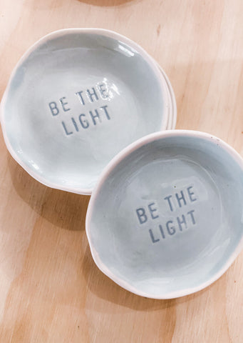 Be The Light Jewelry Dish