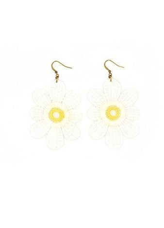 Tiki Earrings - Daisy