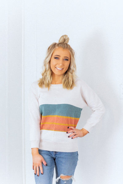 Harper ColorBlock Sweater