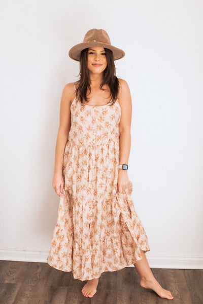 Beverly Blush Floral Dress