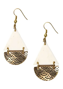 MB Anika Teardrop Earrings