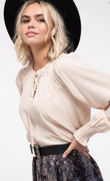 Brooklyn Taupe Blouse