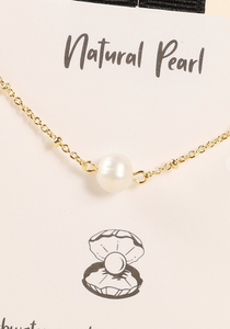 Pearl Dainty Necklace