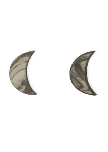Marbled Moon Earrings