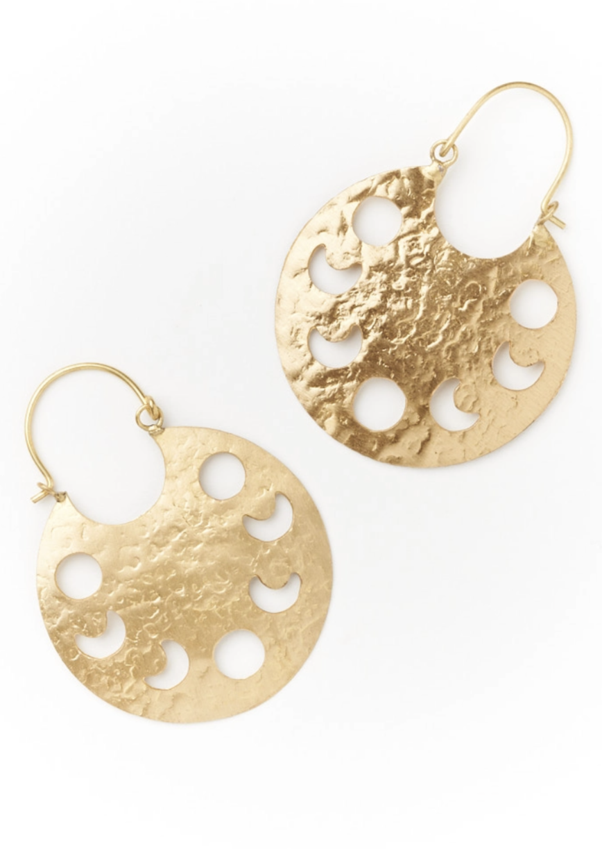 Rajani Earrings - Indu Hoop