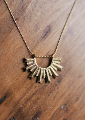 Sunset Cliffs Necklace - WildRoots Creative