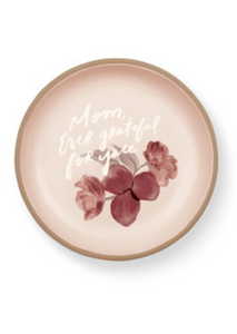 MHN Mom Ever Grateful Stoneware Dish